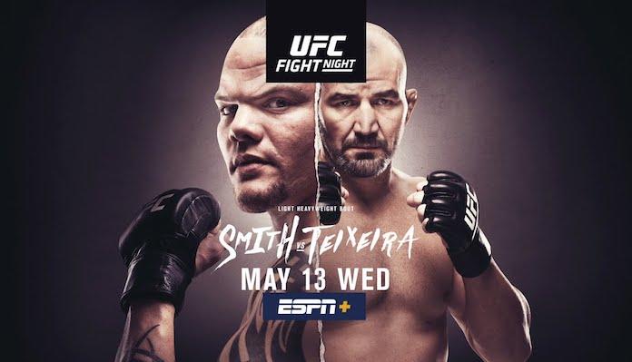 UFC Jacksonville Results - Smith vs. Teixeira