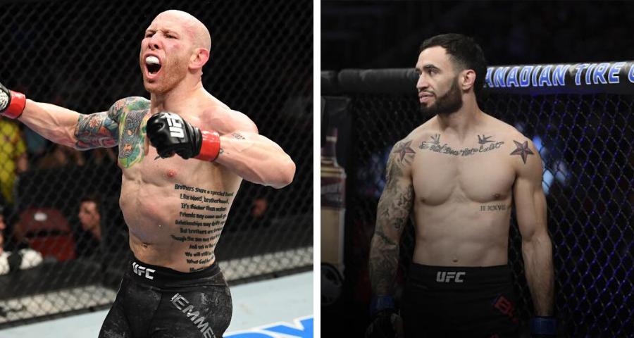 UFC targeting Josh Emmett vs. Shane Burgos