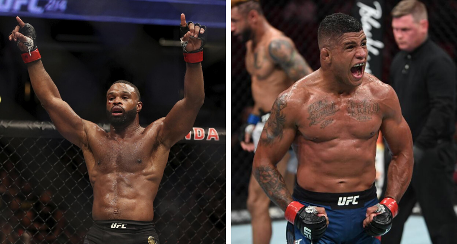 Tyron Woodley vs. Gilbert Burns Targeted For May 23rd UFC Card