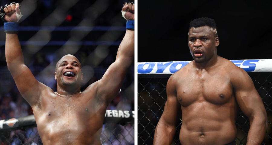 Daniel Cormier says he'll fight Francis Ngannou for the vacant title if Stipe Miocic isn't available