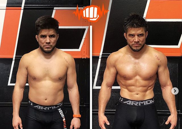 Henry Cejudo looking jacked ahead of UFC 249