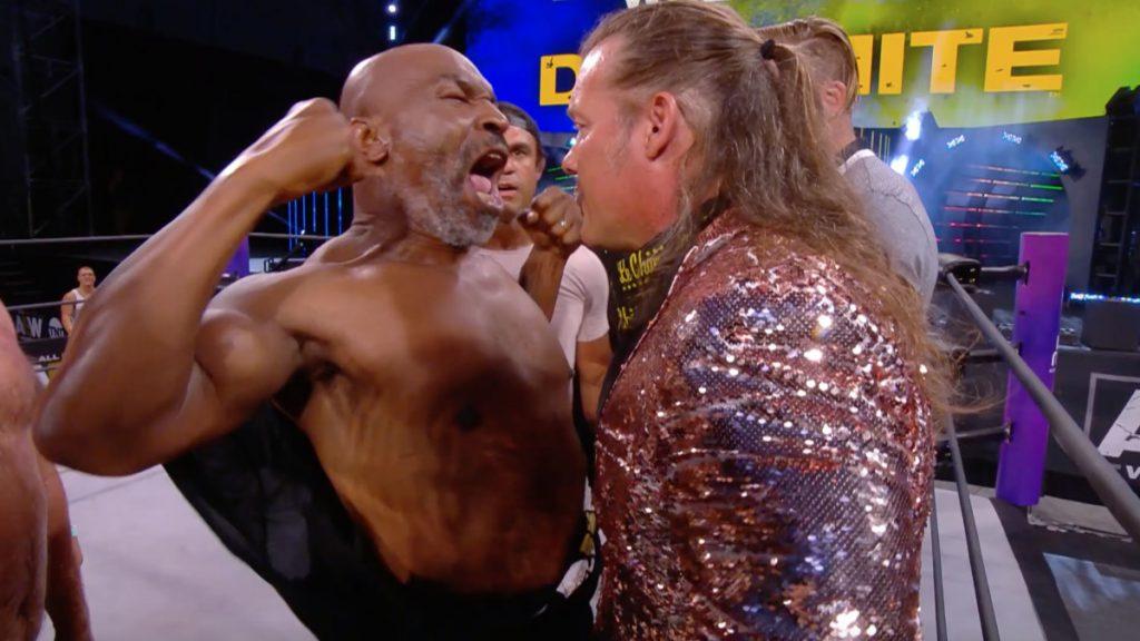 Mike Tyson, AEW, Chris Jericho