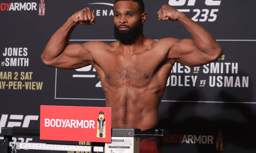 UFC on ESPN 9 weigh-in results - Woodley vs. Burns