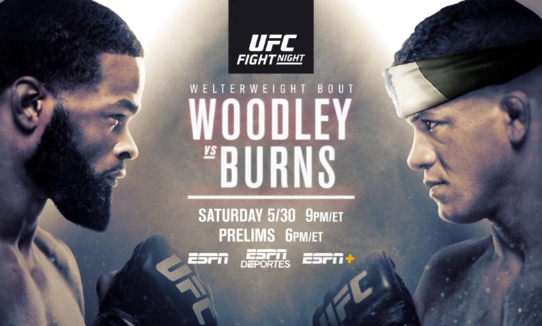 UFC on ESPN 9 results - Woodley vs. Burns