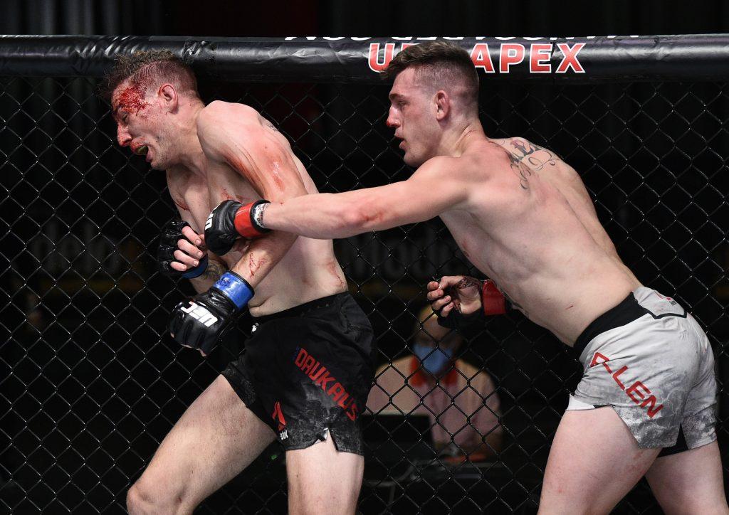 Brendan Allen, Kyle Daukaus, UFC on ESPN 12