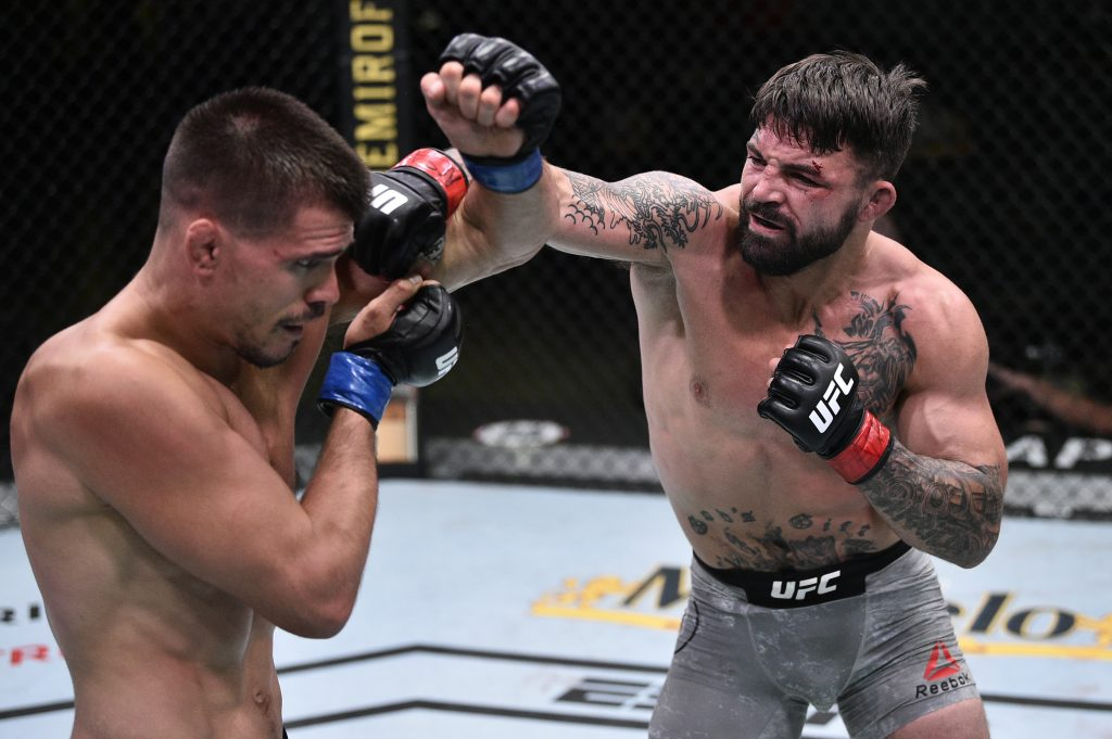 Mike Perry, Mickey Gall, UFC on ESPN 12