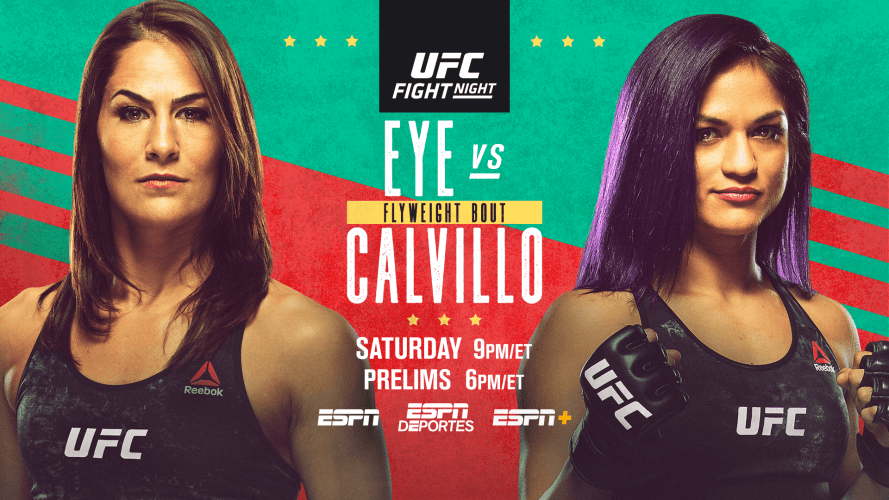 ESPN on UFC 10 results - Eye vs. Calvillo
