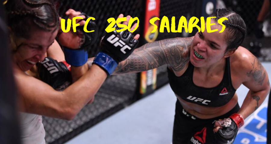 UFC 250 salaries released: Six fighters receive six-figure paydays