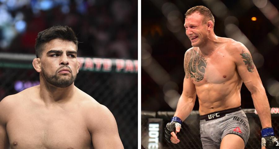 UFC targeting Kelvin Gastelum vs. Jack Hermansson for July 18