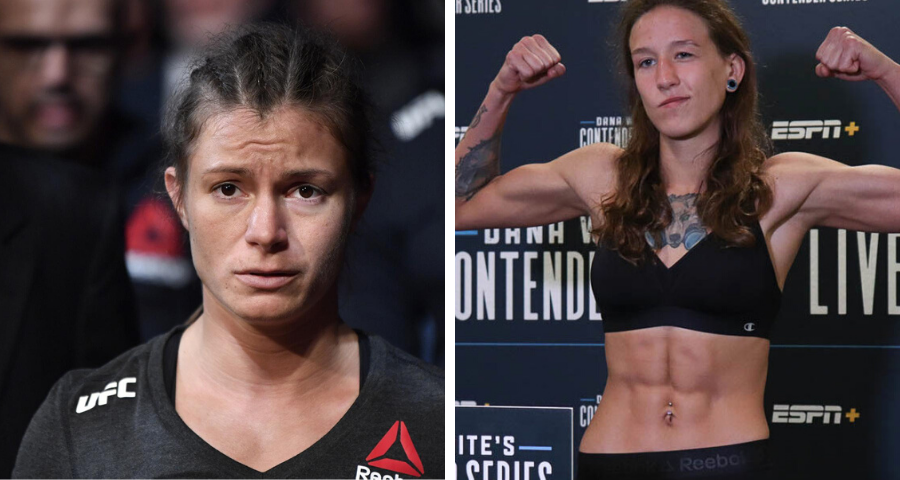 Cifers replaced Gatto to face Agapova at UFC's June 13 event