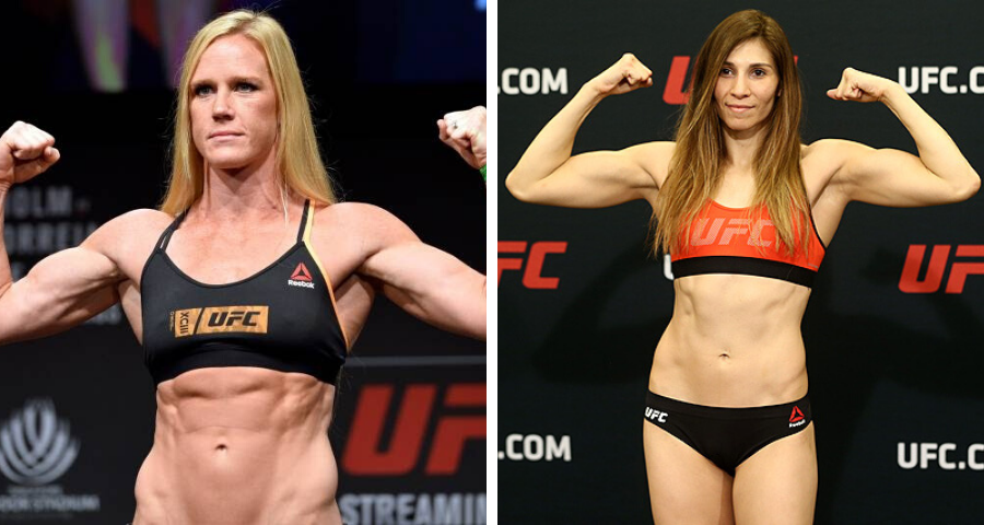 Holly Holm Irene Aldana