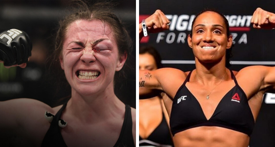 "Molly McCann vs. Taila Santos meet at ""Fight Island"" on July 15"