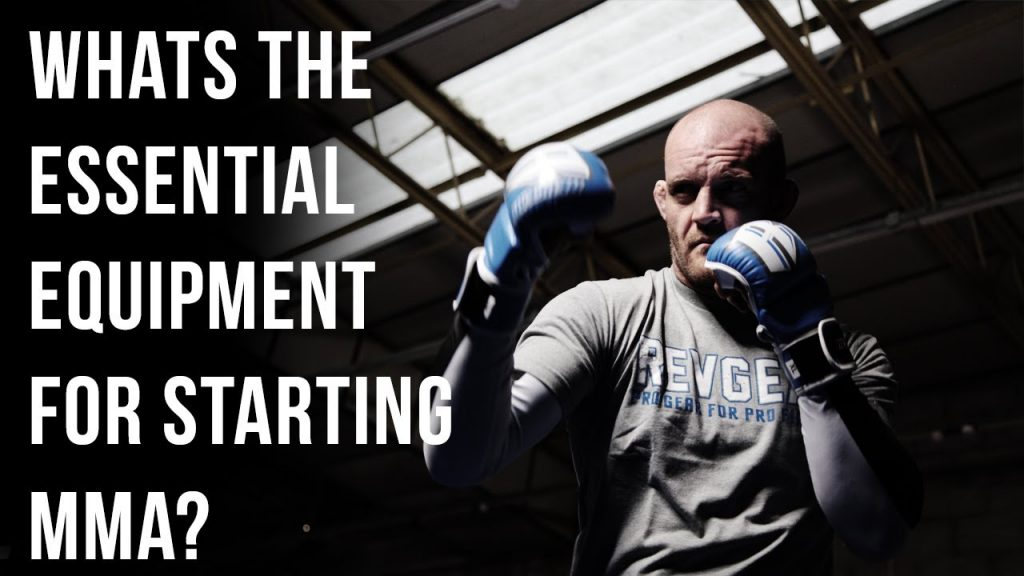 Essential equipment that MMA fighters need for training