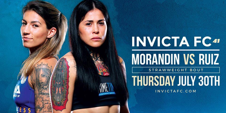 Invicta FC 41 results - Morandin vs. Ruiz