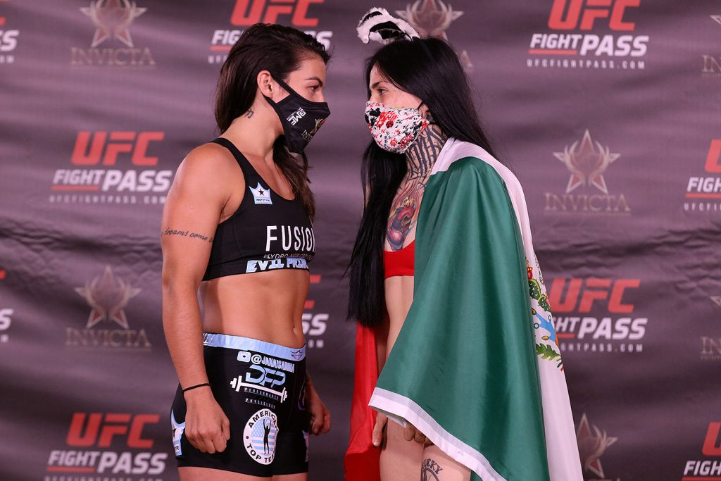 Invicta FC 41 weigh-in results - Morandin vs. Ruiz