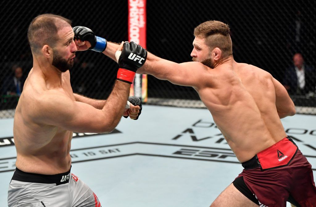 Jiri Prochazka knocks out Volkan Oezdemir in UFC debut