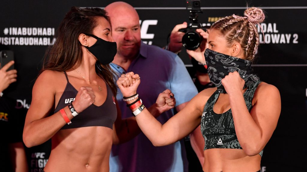 Amanda Ribas taps out Paige VanZant in first-round
