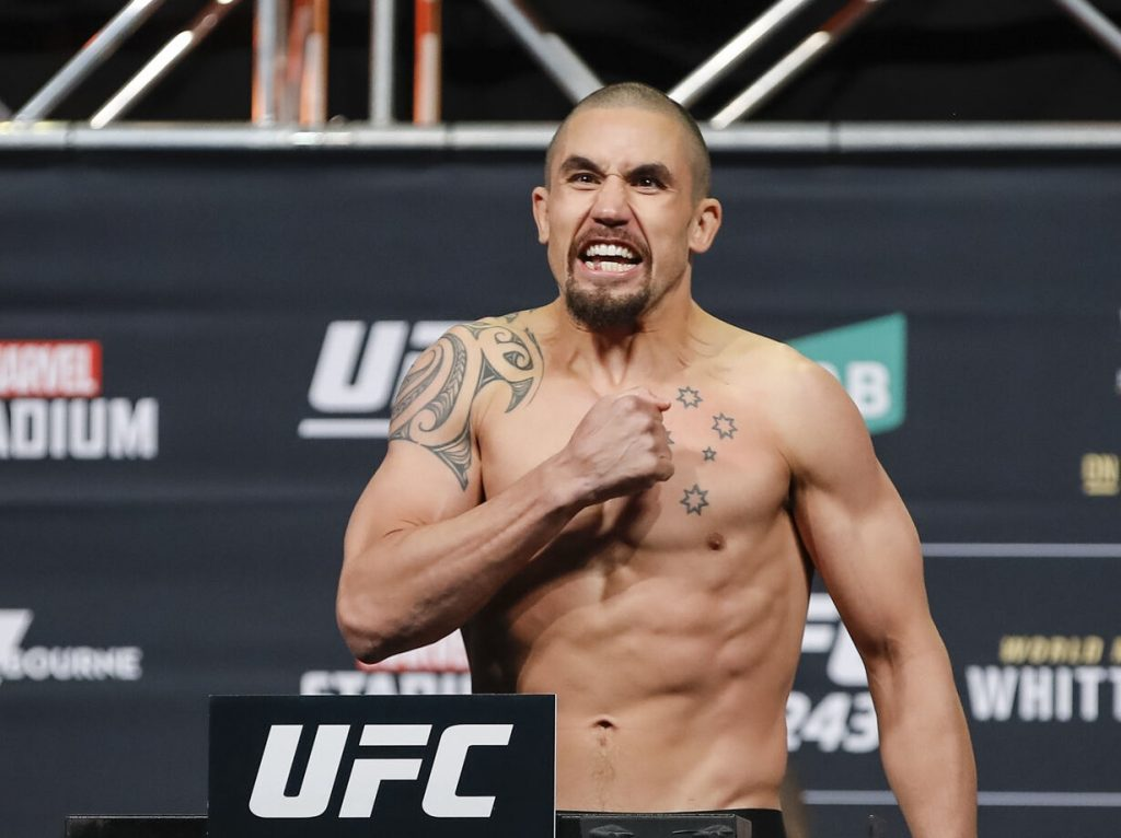 UFC on ESPN 14 weigh-in results - Whittaker vs. Till