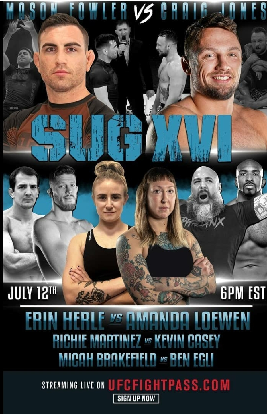 Submission Underground 16 Live Results