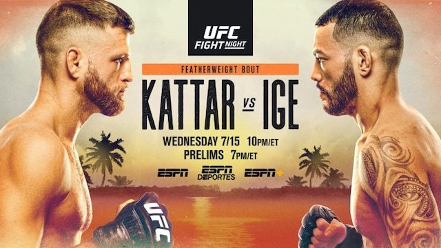 UFC on ESPN 13 results - Kattar vs. Ige