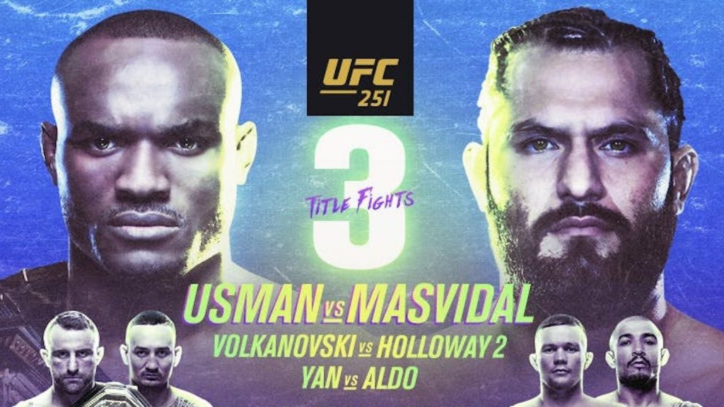 UFC 251 results - 3 title fights on Fight Island