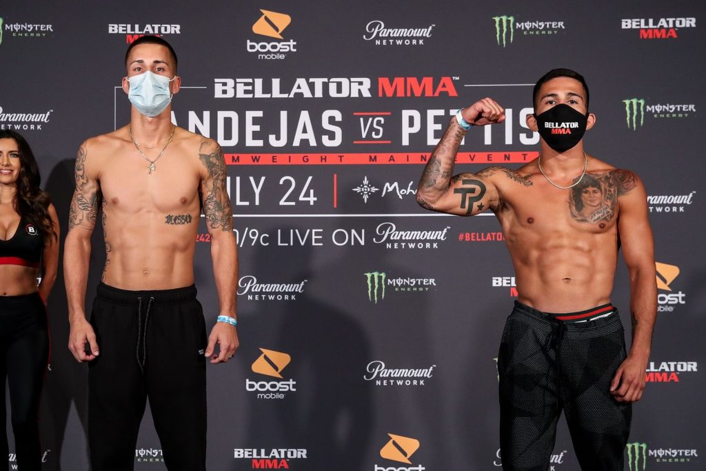 Bellator 242 weigh-in results - Bandejas vs. Pettis