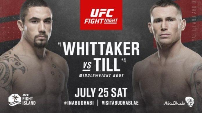UFC on ESPN 14 results - Whittaker vs. Till