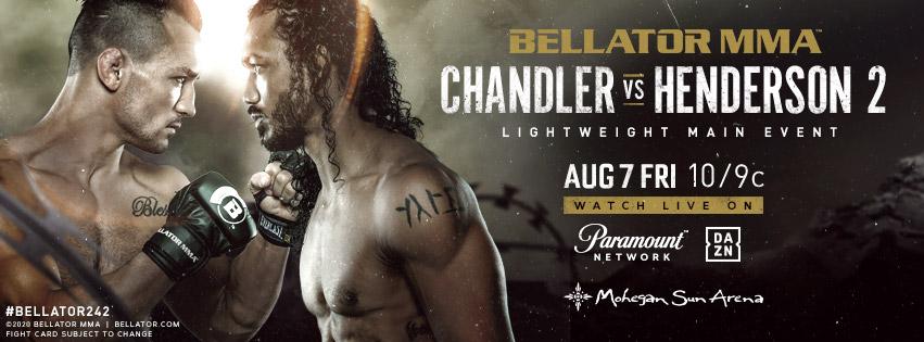 Bellator 243 results - Michael Chandler vs. Benson Henderson II