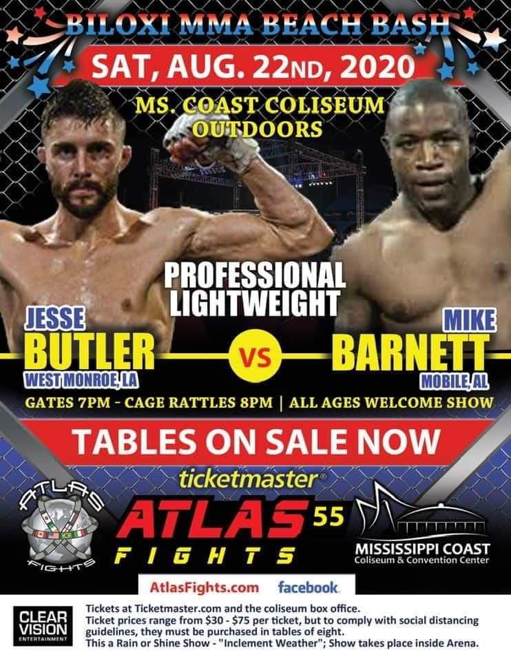 Mike Barnett, Atlas Fights