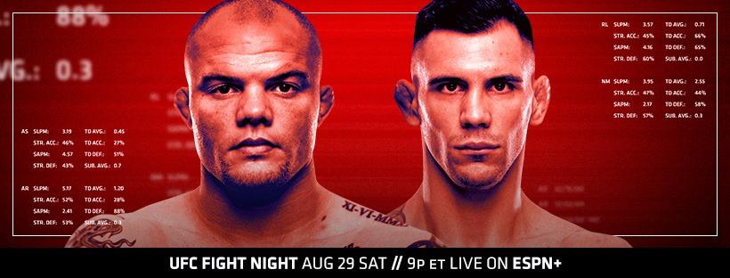 UFC Vegas 8 results - Smith vs. Rakic