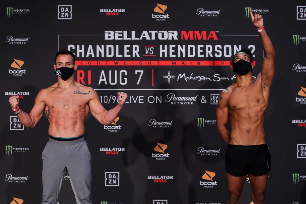 Bellator 243 weigh-in results - Chandler vs. Henderson 2