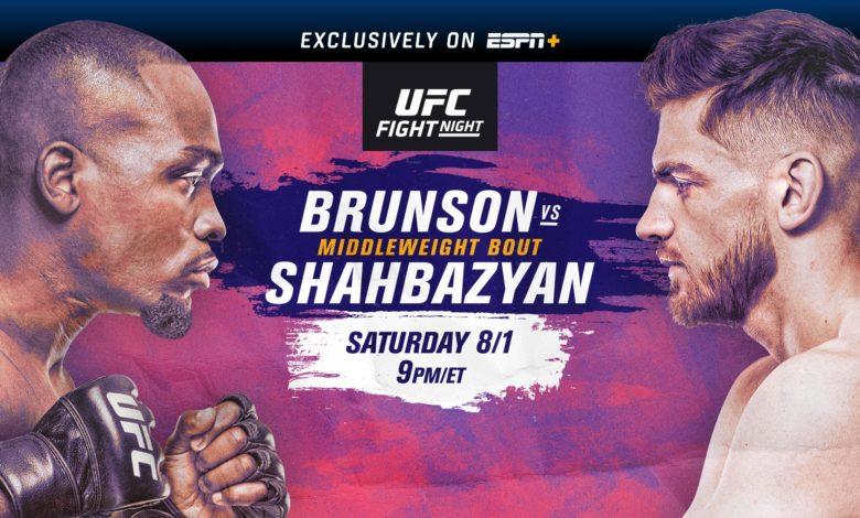 UFC on ESPN+ 31 results - Brunson vs. Shahbazyan