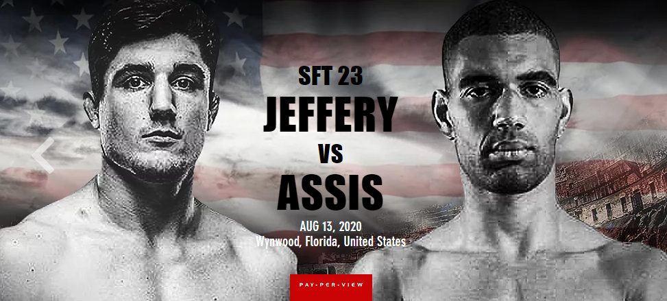 SFT 23 Results - Aaron Jeffery vs. Bruno Assis - ORDER HERE