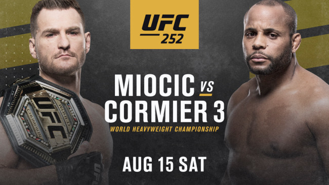 UFC 252 results - Miocic vs. Cormier 3