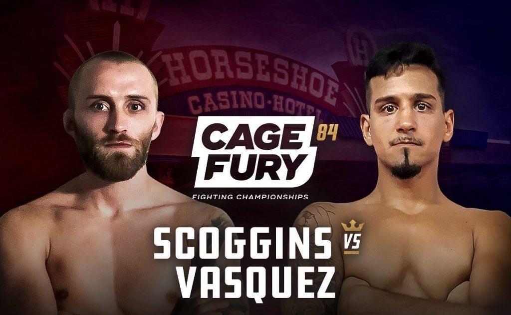 CFFC 84 results: Jared Scoggins vs. Thomas Vasquez