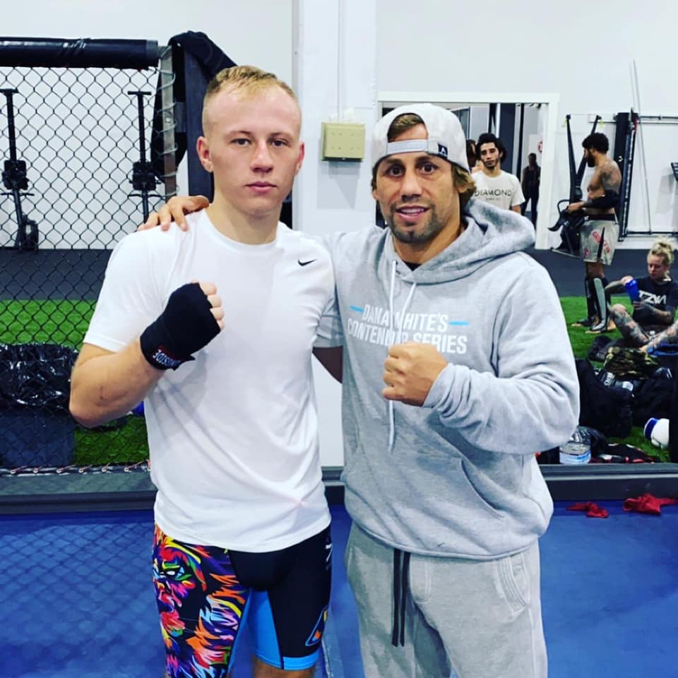 Dylan Harnish and Urijah Faber