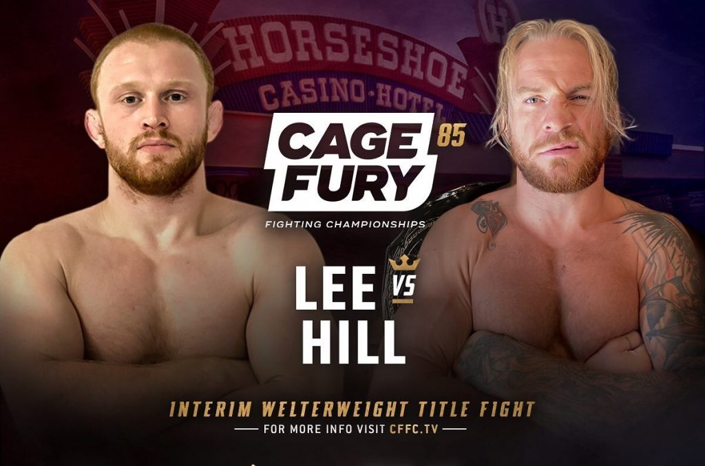 CFFC 85 results: Michael Hill vs. Bobby Lee for interim welterweight championship