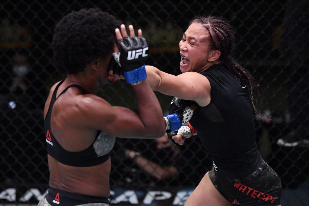 UFC on ESPN+ 35, Michelle Waterson, Angela HIll