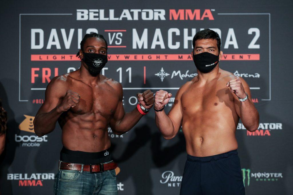 Bellator 245 weigh-in results - Davis vs. Machida 2