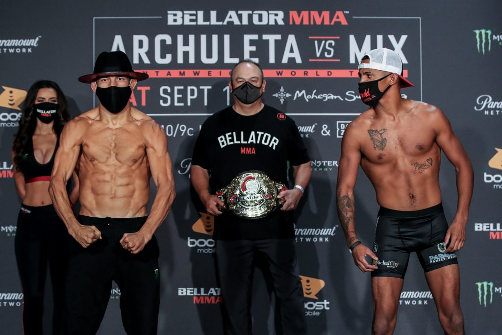 Bellator 246: Archuleta vs. Mix weigh-in results