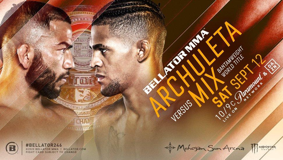 Bellator 246 results - Archuleta vs. Mix for bantamweight title