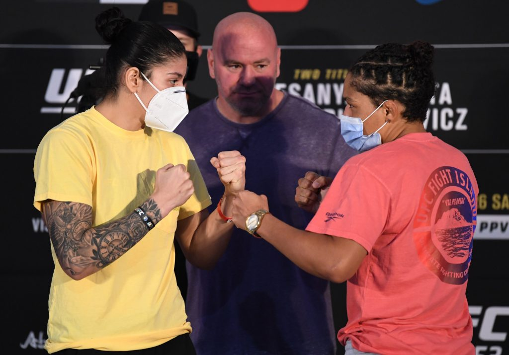 Ketlen Vieira returns to the UFC with a decision win over Sijara Eubanks
