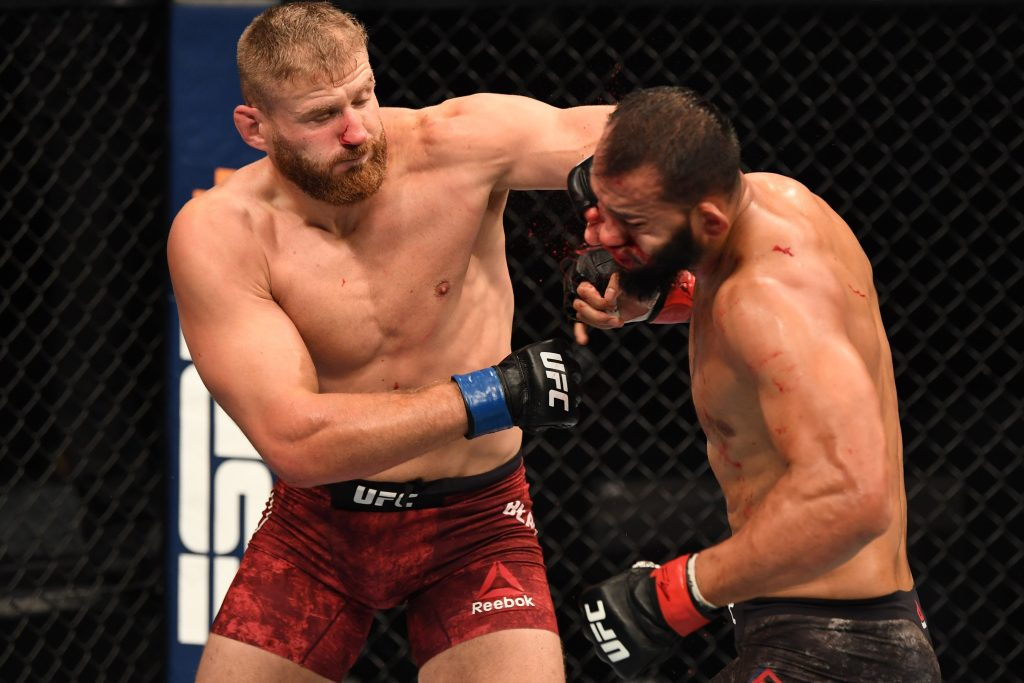 Jan Blachowicz knocks out Dominick Reyes to claim UFC gold