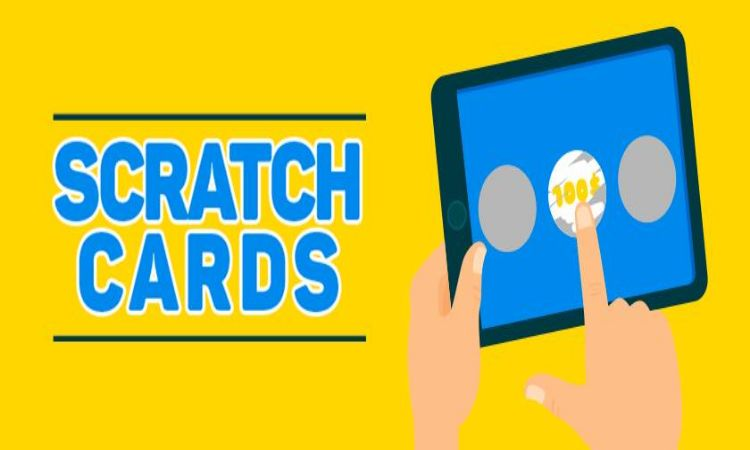 Compare and distinguish between offline and online scratch cards