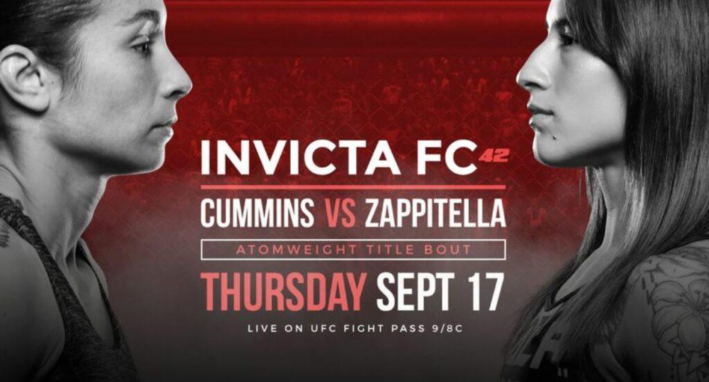 Invicta FC 42 results - Cummins vs. Zappitella