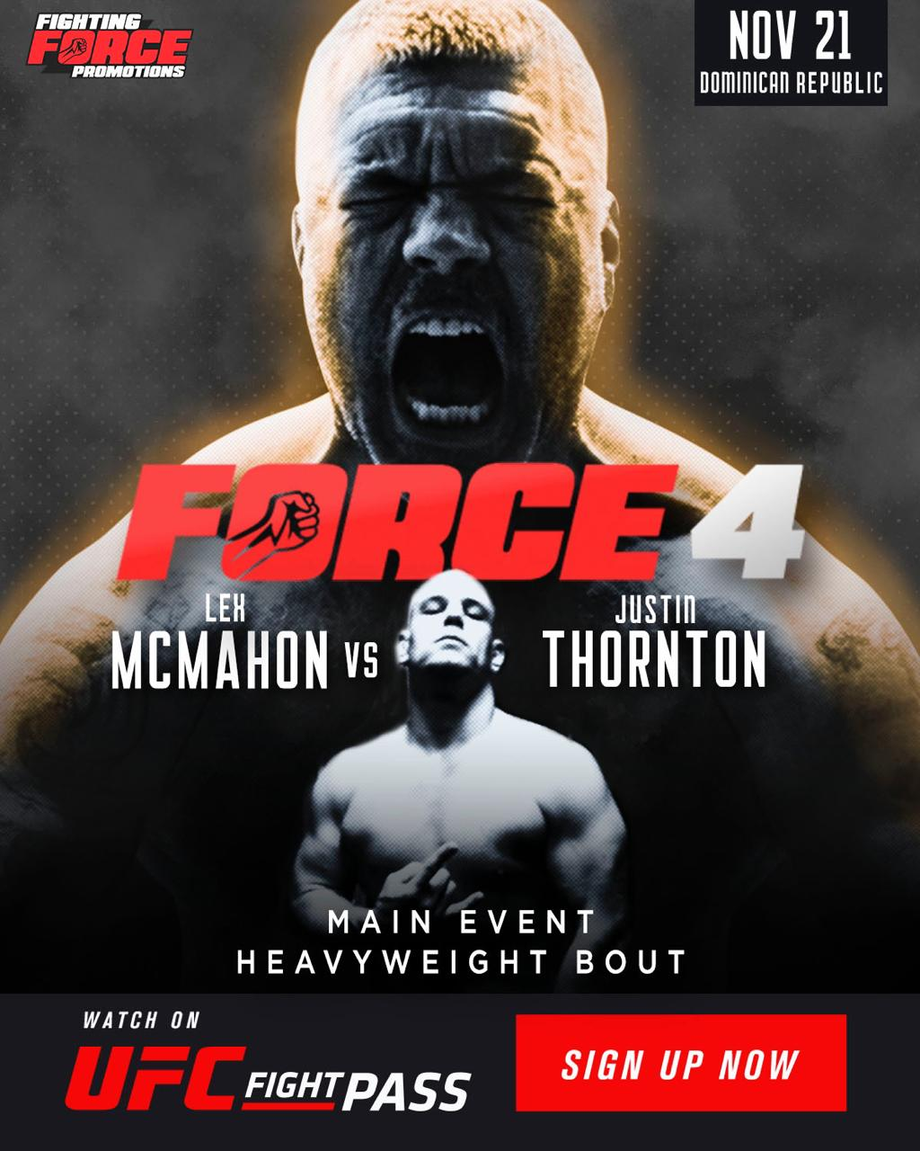 Lex McMahon, Fighting Force 4, Fighting Force