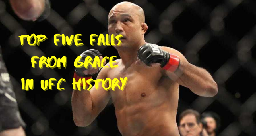 Top Five Falls From Grace In UFC History
