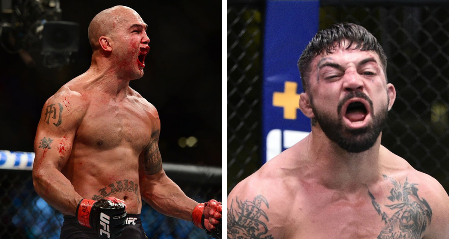 Mike Perry vs Robbie Lawler