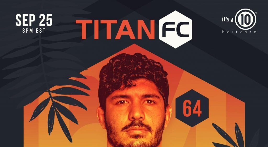 Titan FC 64, Said Sowma