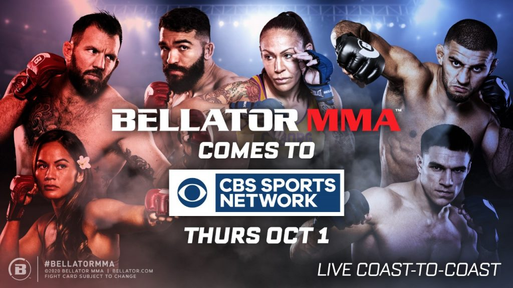 Bellator MMA & CBS Sports Network Team Up On New Television Partnership